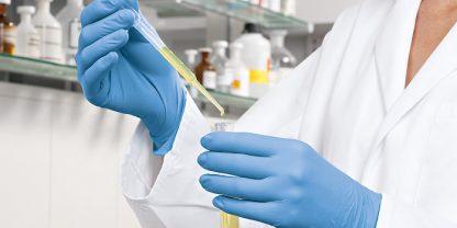 Das Teamwork Peha-soft nitril steril, latexfrei und puderfrei